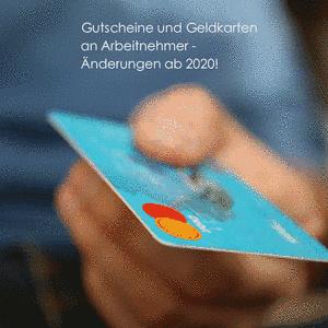 Gutscheine & Geldkarten ab 2020