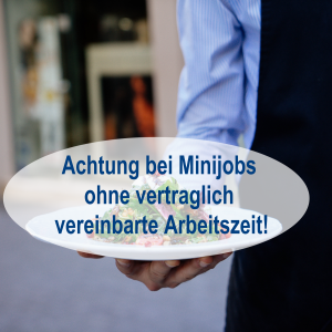 Achtung bei Minijobs